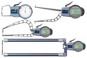 Schnelltaster von Kroeplin als Innenmessgeräte oder Aussenmessgeräte für verschiedene Anwenungsbereiche.