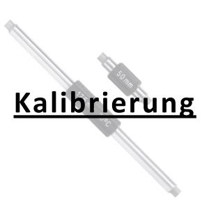 Kalibrierung inkl. Zertifikat Einstellmaß bis 200 mm