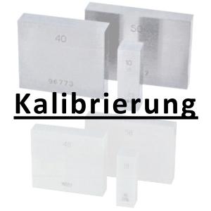 Kalibrierung inkl. Zertifikat Parallelendmaß größer 100 - 300 mm