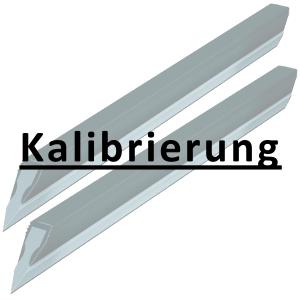 Kalibrierung inkl. Zertifikat Haarlineal bis 200 mm