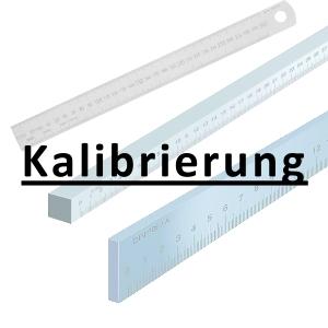 Kalibrierung inkl. Zertifikat Maßstab bis 500 mm