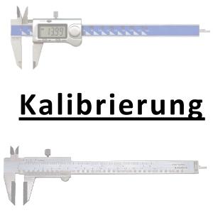 Kalibrierung inkl. Zertifikat Messschieber DIN 862 0 - 150 mm