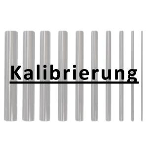 Kalibrierung inkl. Zertifikat Einzelprüfstifte bis 20 mm Durchmesser