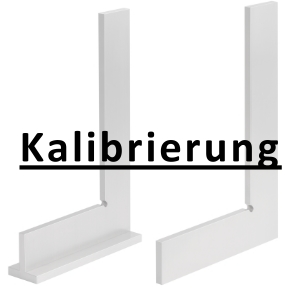 Kalibrierung inkl. Zertifikat Stahlwinkel bis 200 mm