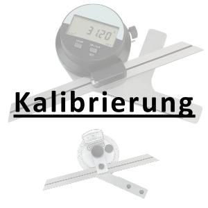 Kalibrierung inkl. Zertifikat Univ.-Winkelmesser bis 200 mm