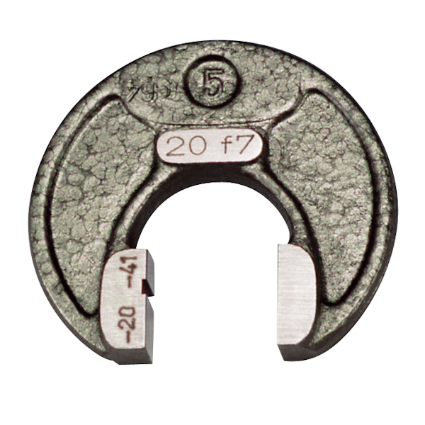 Grenz-Rachenlehre einmäulig DIN 2231 Ø 17 mm
