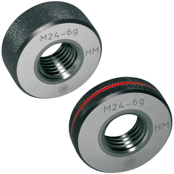 Gewindelehrring Hartmetall Gut oder Ausschuss 6g M 16 x 2