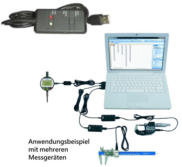 Interface USB - Mini-USB