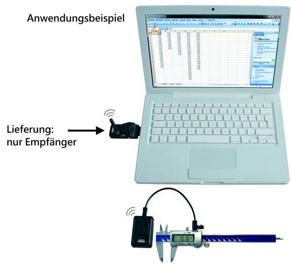 Funkübertragung Interface (Empfänger)