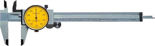 Messschieber mit Messuhr- Anzeige DIN 862 150 mm