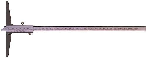 Tiefenmessschieber DIN 862 200 mm