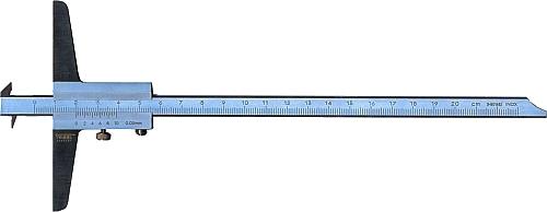 Tiefenmessschieber mit 2 Haken DIN 862 150 mm