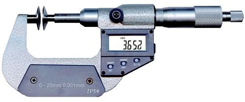 Digitale Zahnweiten- Messschraube, IP40 0 - 25 mm