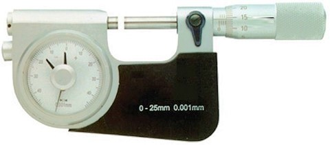 Feinzeiger Messschraube DIN 863 0 - 25 mm