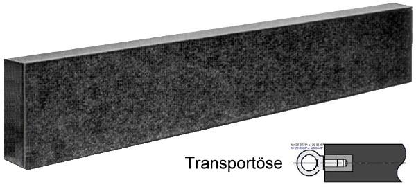 Präzisions Messbalken, DIN 876/00 800 x 50 x 120 mm