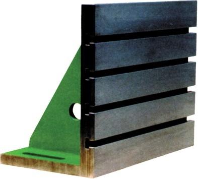 Aufspannwinkel, mit T-Nuten, Güte I 150 x 100 x 75 mm