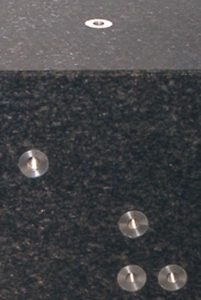 Gewindeeinsatz für Messplatten aus Hartgestein M 3