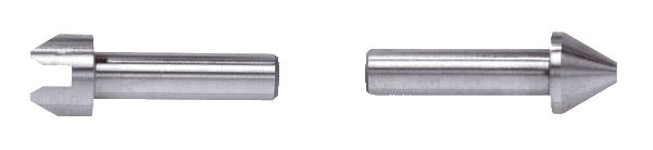 Gewinde-Messeinsatz Stahl gehärtet Innen 0,4 - 0,5