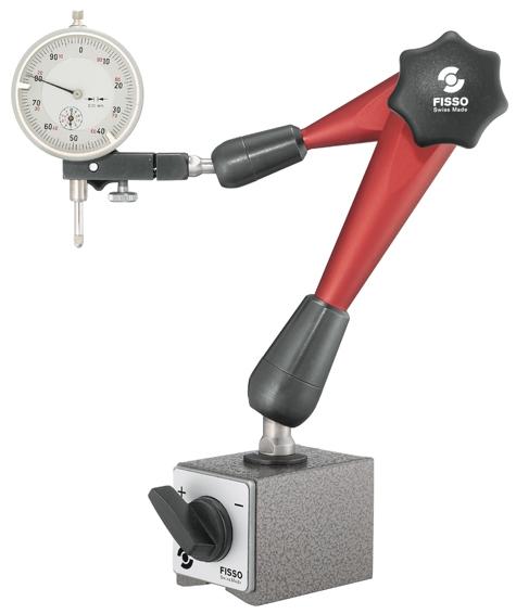 Magnet-Gelenkstativ Fisso STRATO-LINE S-20 Höhe: 310 mm