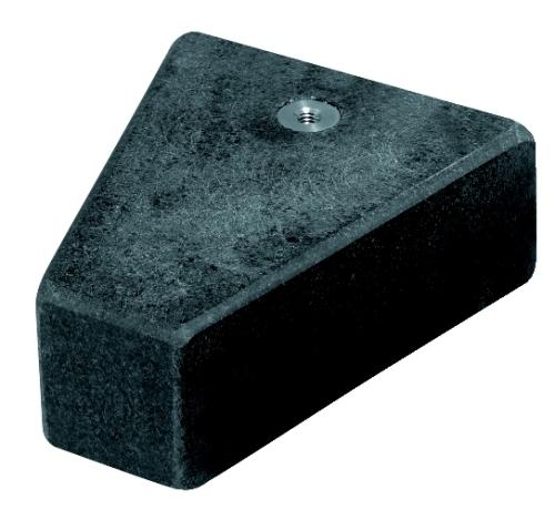 Fisso Gerätefuß aus Hartgestein Granitschiebefuss G
