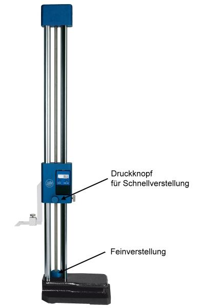 Digitales Höhenmess- und Anreißgerät Doppelsäule 0 - 300 mm