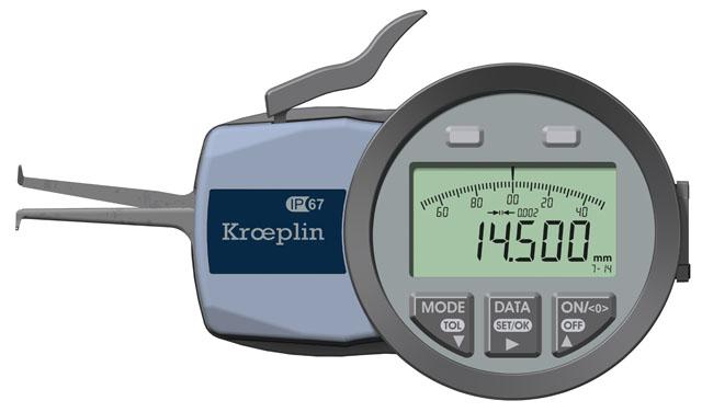 Innenmessgerät, Dreipunktmessgerät 7 mm - 14 mm