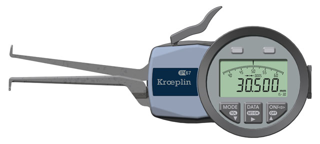 Innenmessgerät, Dreipunktmessgerät 15 mm - 30 mm