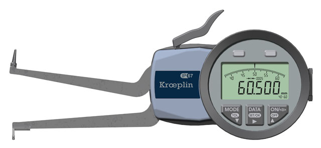 Innenmessgerät, Dreipunktmessgerät 40 mm - 60 mm