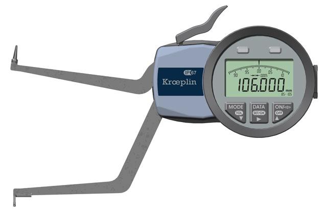 Innenmessgerät, Dreipunktmessgerät 85 mm - 105 mm