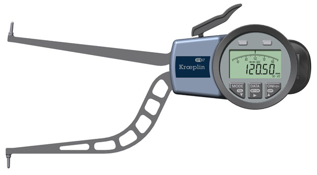 Innenmessgerät, digitaler Schnelltaster 90,0 mm - 120,0 mm