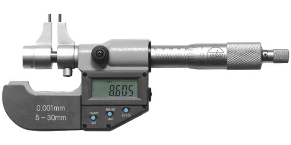 Digital Innenmessschraube mit Messschnäbeln 5 - 30 mm