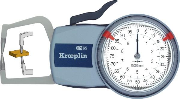 Außenmessgerät, Absolutmessgerät mechanisch 0 mm - 10,0 mm