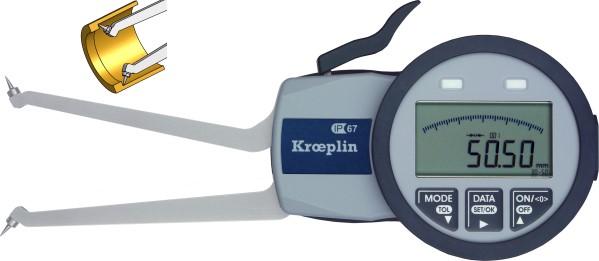 Innenmessgerät, digitaler Schnelltaster, Spitzen 60 mm - 80 mm
