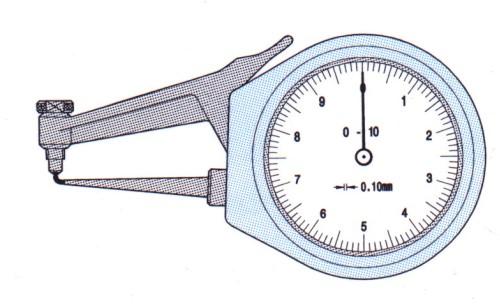 mechanisches Taschenmessgerät POCO 2R