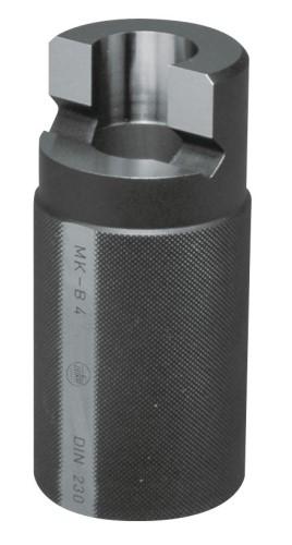 Kegellehre für Morsekegel Hülse mit Lappen DIN 230 MK 0