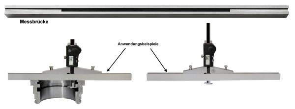 Messbrücke für digitaler Tiefenmessschieber 400 mm 400 mm