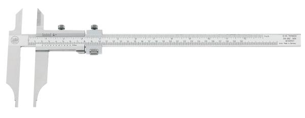 Werkstatt- Messschieber mit großen Schenkeln 0 - 250 mm