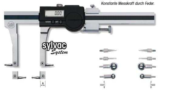 Digital-Universalmessschieber für Innen/Außen 220 mm