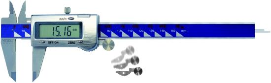 Digitaler Messschieber, Metallgehäuse 150 mm (6 inch)