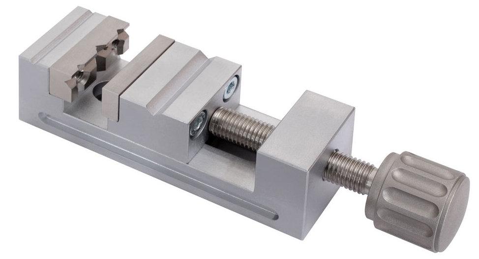 Mini- Schraubstock Größe 2, Stahl 75 mm x 25 mm x 25 mm