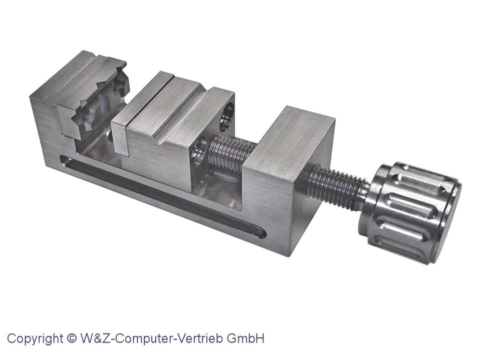 Mini- Schraubstock Größe 2 INOX 75 mm x 25 mm x 25 mm