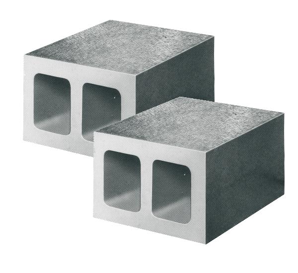 Parallelkasten Paar glatt Güte 0 150 x 150 x 100 mm