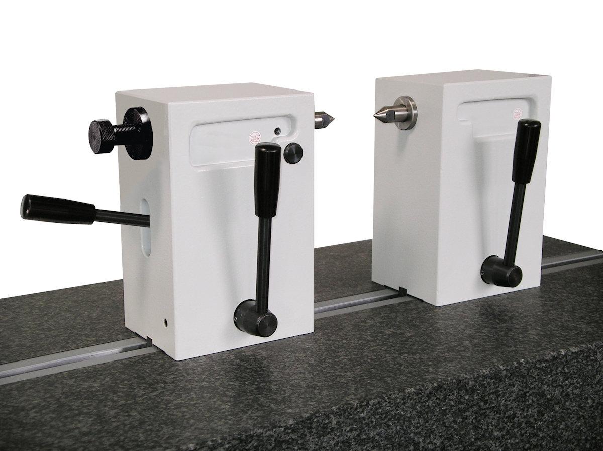 Reitstöcke-Paar aus Spezialguss mit Handhebel H = 100 mm