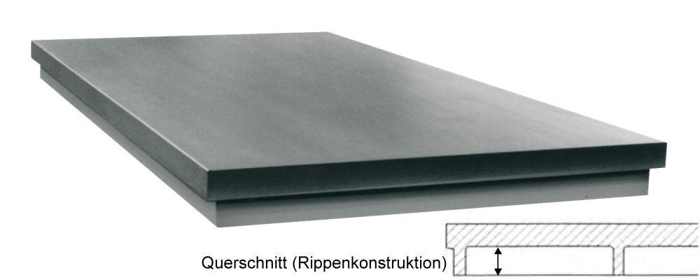 Richtplatte, massive Ausführung 2000mm x 1000mm x 120mm