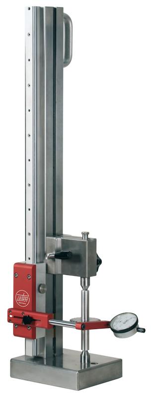 Rundlaufprüfgerät für vertikale und horizontale Anwendungen bis Ø 150 mm