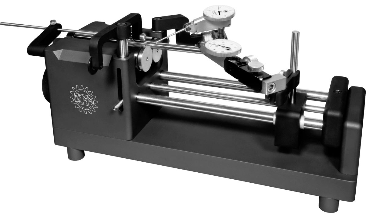 Rundlaufprüfgerät UNITEST für Werkstücke Ø 1,5 mm - 50 mm