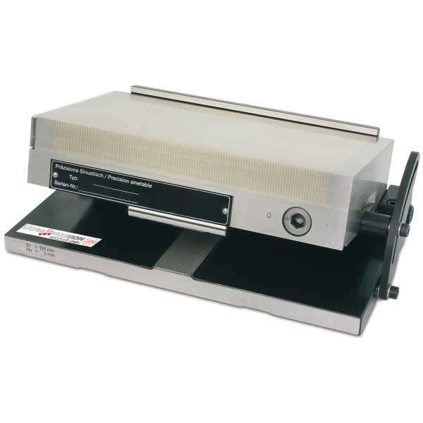 Sinustisch mit Magnetspannplatte 175 x 100 mm