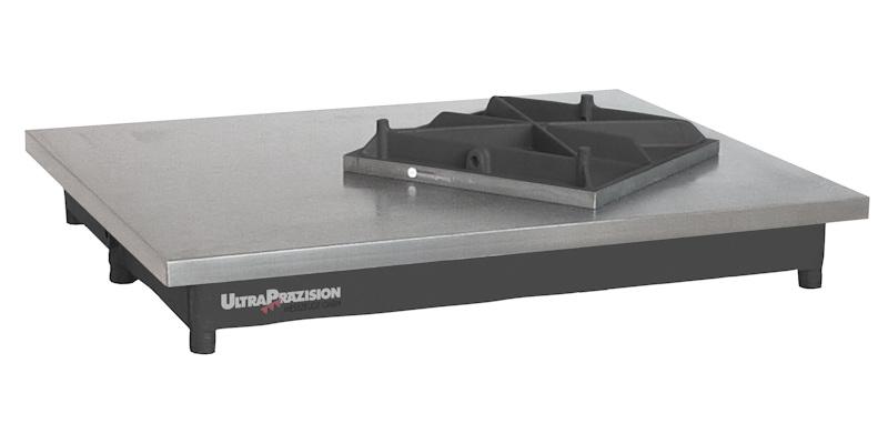 Kontroll- und Prüfplatte DIN 876, Güte 0 200 x 200 mm