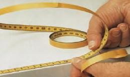 Massband selbstklebend 2000 mm