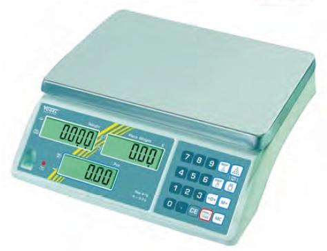 Elektr. Digital Industriezählwaage, eichfähig bis 3,0 kg / 1,0 g